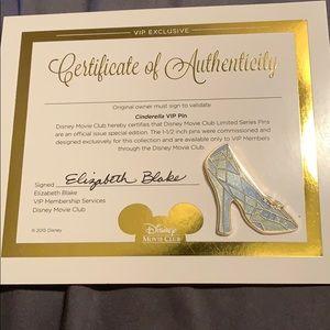 Cinderella shoe pin